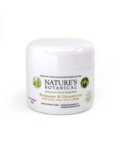 Personal Insect Repellent Creme - 260g Creme - Nature's Botanical