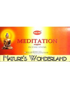 Meditation Incense Sticks by HEM