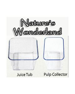 Collection Bowl: Plastic Juice / Pulp Container - for Angel Juicers