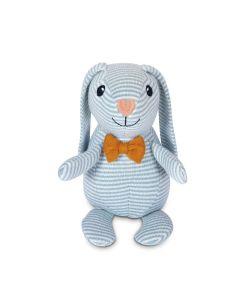 Dapper Knit Patterned Bunny Plush Toy - Apple Park