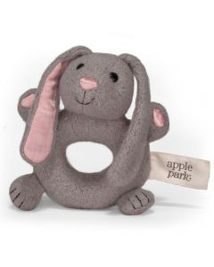 Bunny Soft Rattle - Apple Park