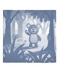 Cubby Jacquard Muslin Blanket - Apple Park