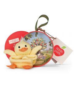 Ducky Wrist Rattle - Apple Park