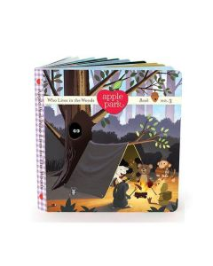 The Picnic Pals, Book 3: Who Lives in the Woods - Apple Park