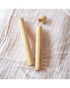 Bamboo Toothbrush Travel Case - Brush It On
