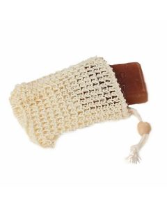 Sisal Soap Pouch with Drawstring - Bass Brushes