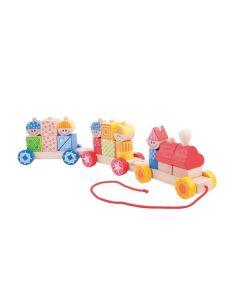 Big Build Up Train - Bigjigs Toys