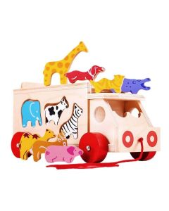 Animal Shape Lorry - Bigjigs Toys