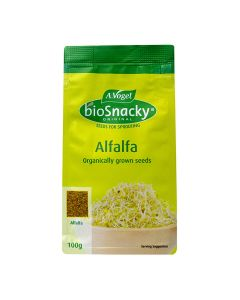 Alfalfa - bioSnacky Sprouting Seeds - 100g - A. Vogel