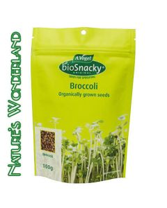 Broccoli - bioSnacky Sprouting Seeds - 100g - A. Vogel