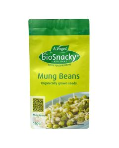 Mung Beans - bioSnacky Sprouting Seeds - 100g - A. Vogel