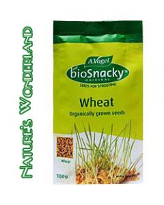 Wheat - bioSnacky Sprouting Seeds - 100g - A. Vogel