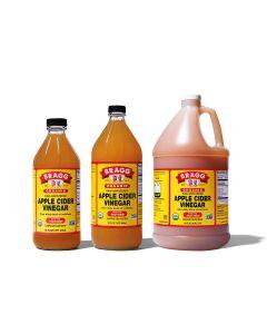 Apple Cider Vinegar - Organic, Raw & Unfiltered - Bragg