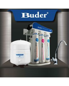 Buder 5 Stage Reverse Osmosis System with Steel Stand