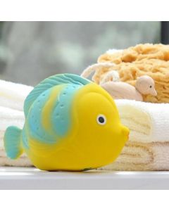La the Butterflyfish - Natural Rubber Bath Toy - CaaOcho Ocean Collection
