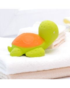 Mele the Sea Turtle - Natural Rubber Bath Toy - CaaOcho Ocean Collection