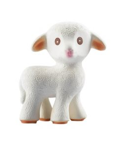 Mia the Lamb - Natural Rubber Teething Toy - CaaOcho Friends Collection