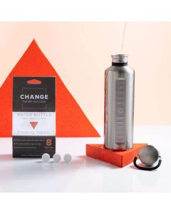 Water Bottle Cleaning Tablets - Change