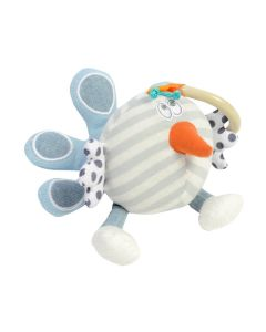 Baby Shaker Peacock Plush - Dolce Toys