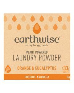 Laundry Powder - Orange & Eucalyptus - 1kg - Earthwise