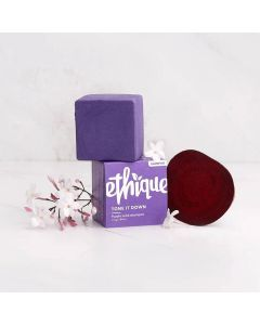 Tone It Down Purple Solid Shampoo - for Blonde & Grey Hair - 110g - Ethique