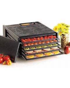 5 Tray 4526T (with Timer) Excalibur Small Garden Home Food Dehydrator