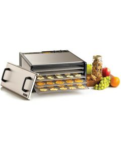 5 Tray D502SHD Excalibur Stainless Steel Food Dehydrator