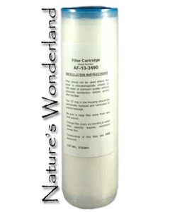 """Pre-Filter for Fluoride Removal - 10"""" Activated Alumina Cartridge"""