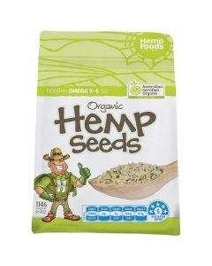Organic Hulled Hemp Seeds - Hemp Foods Australia