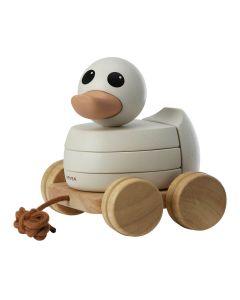 Kawan Rubberwood Stacker & Pull Toy - Hevea