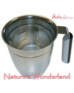 Bowl, Stainless Steel - 3L - for HotmixPRO Gastro XL Thermal Mixers