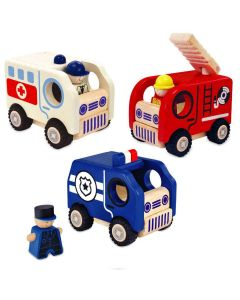 City And Service Vehicles - I'm Toy