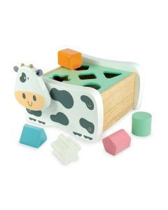 Cow Geo Sorter - Pastel - I'm Toy