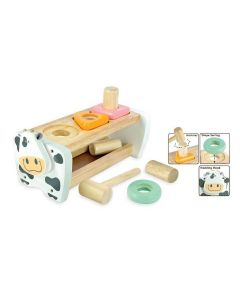 Cow Hammer and Peg Bench - Pastel - I'm Toy
