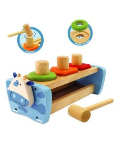 Cow Hammer and Peg Bench - I'm Toy