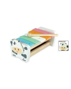 Cow Xylophone Bench - Pastel - I'm Toy