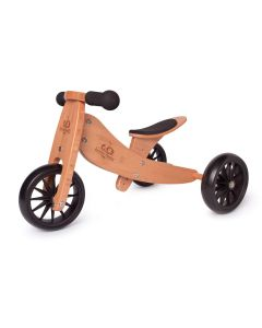 Tiny Tot 2-in-1 Trike - Bamboo - Kinderfeets Balance Bike