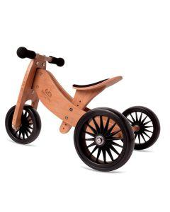 Tiny Tot Plus 2-in-1 Trike - Bamboo - Kinderfeets Balance Bike