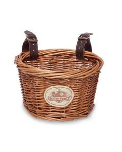 Wicker Basket with Straps - for Kinderfeets Balance Bike