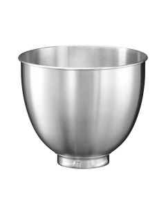 Mixing Bowl - Stainless Steel - 3.3L - for KitchenAid Mini Stand Mixers