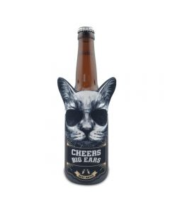 Cool Cat Can Stubby Cooler - Cheers Big Ears Range by Lisa Pollock