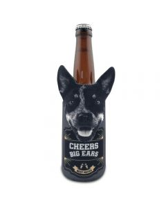 Cattle Dog Can Stubby Cooler - Cheers Big Ears Range by Lisa Pollock