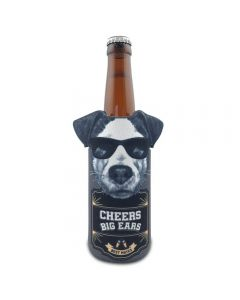 Jack Russell Can Stubby Cooler - Cheers Big Ears Range by Lisa Pollock