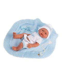 Bebito Azul Baby Doll - Llorens