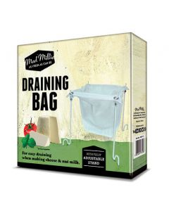 Draining Bag & Stand for Cheese or Nut Milk - Mad Millie