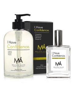 I Have Confidence Fragrance & Body Wash Pack - Melissa Allen Mood Essentials