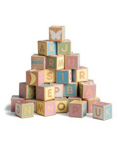 Alphabet Blocks - Pastel - Micki Leksaker