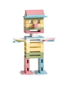 Building Rods - 150 pieces - Pastel - Micki Leksaker