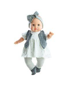 Agatha Soft Body Doll with Star Print - Paola Reina