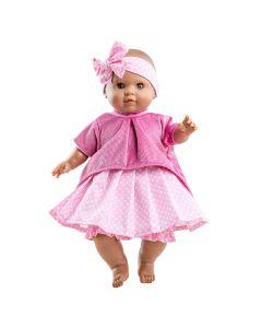 Alberta Soft Body Doll with Polka Dot Skirt - Paola Reina